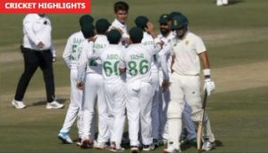 Pakistan Vs South Africa 1st Test Day 3 Highlights January 28, 2021