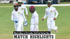 Sri Lanka vs West Indies 2nd Test Day 2 Highlights – March 31, 2021